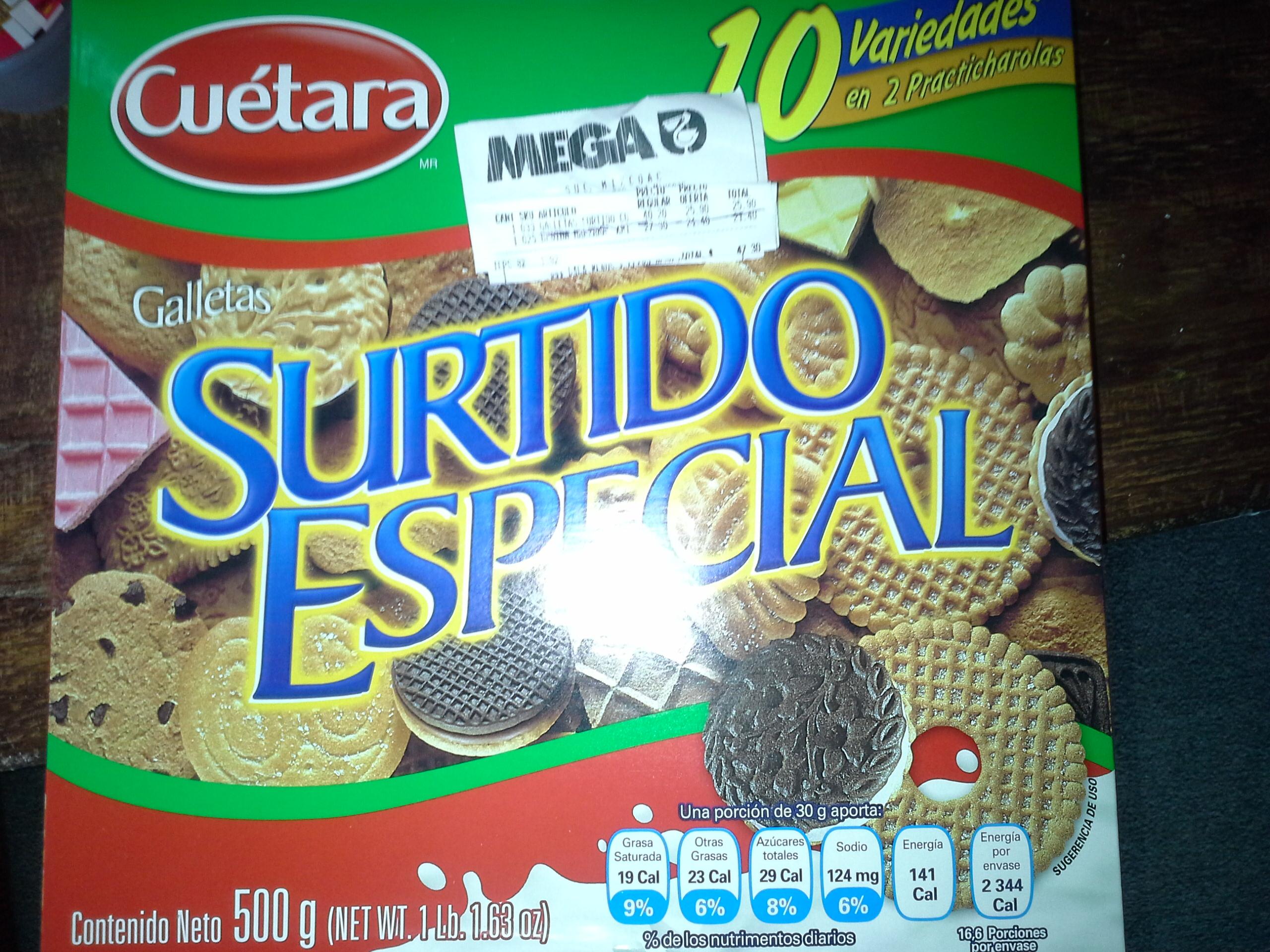 Comercial Mexicana Mega Mixcoac: Galletas Cuétara Surtido Especial de $40.20 a $25.90