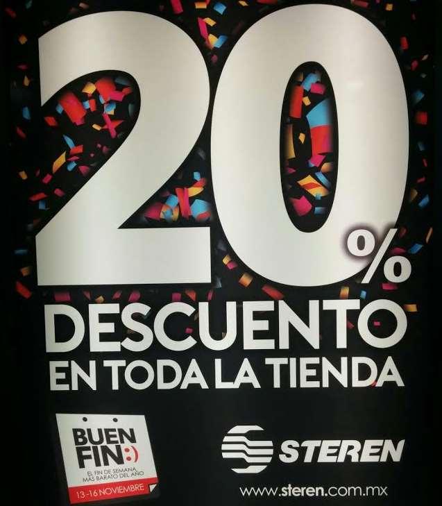 Ofertas del Buen Fin 2015 en tienda Canon, Steren y MiPc