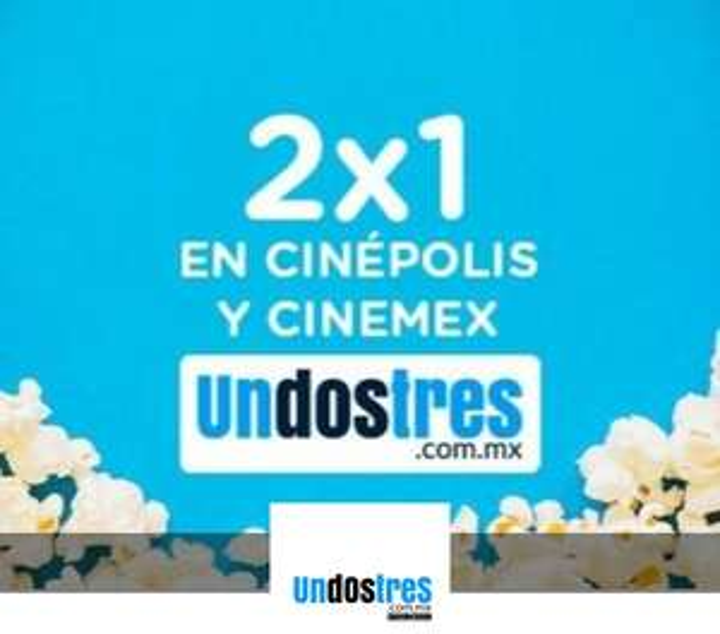 UpSiVale y UnDosTres: 2x1 en CINE (usuarios nuevos)