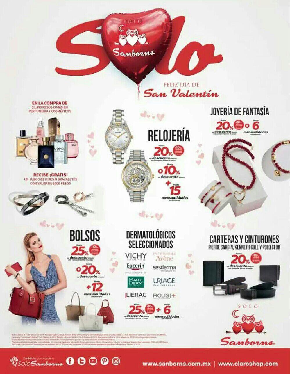 Sanborns: Ofertas de San Valentín