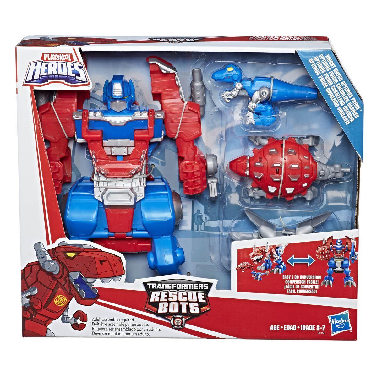 sanborns Optimus prime RESCUE BOTS