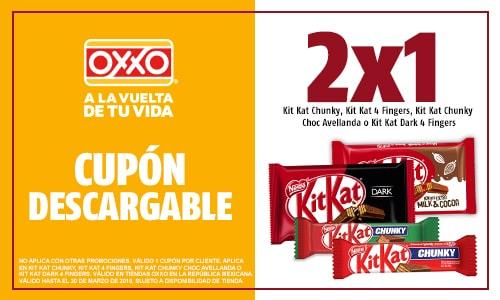 Oxxo: 2x1 en chocolates, galletas y Hershey  cornetto