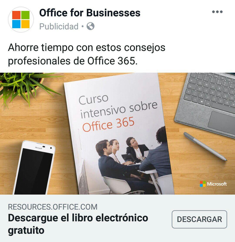 Microsoft: GRATIS Curso intensivo sobre Office 365  Libro PDF