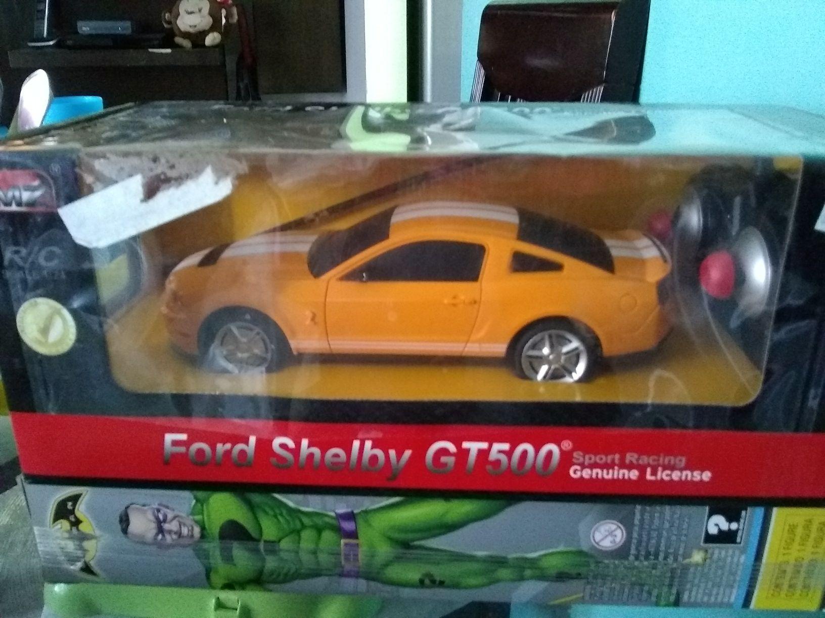 Chedraui H.Tecámac: FORD SHELBY GT 500 R/C GENUINE LICENSE
