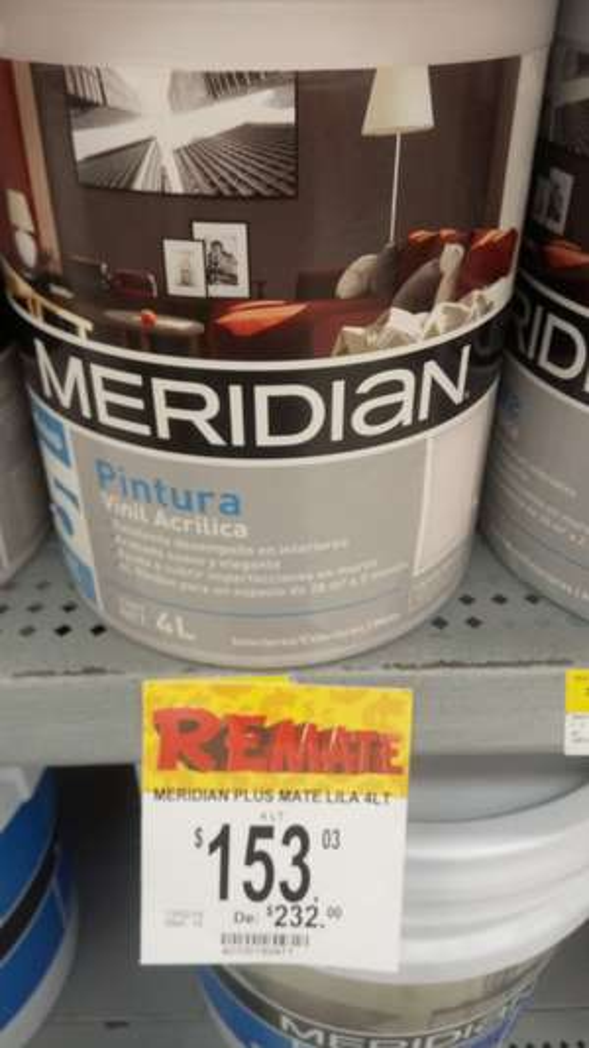 Bodega Aurrerá: Meridian Plus Mate Lila 4L