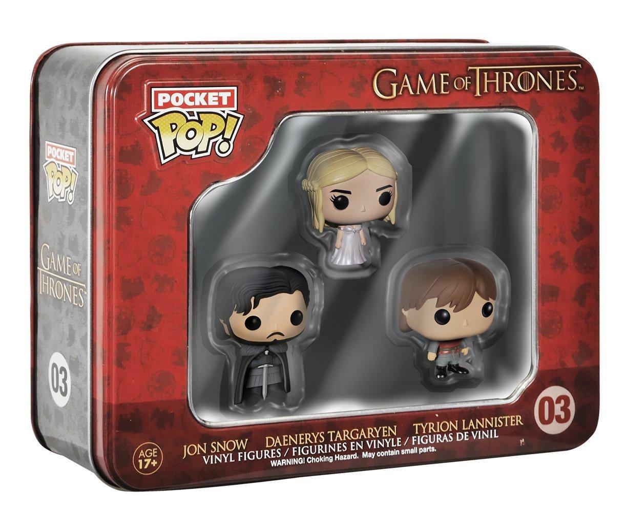 Amazon: Pack de 3 Pocket Pop de Game of Thrones