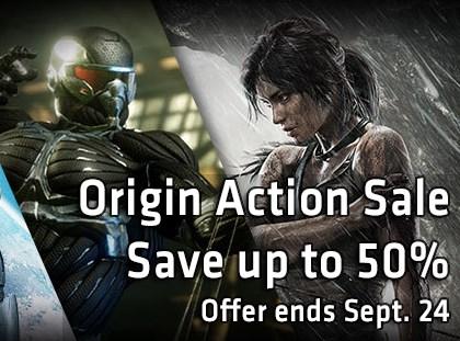 Origin: Tomb Raider o Battlefield 3 $200, Dead Space 3 o Crysis 3 $250 y más