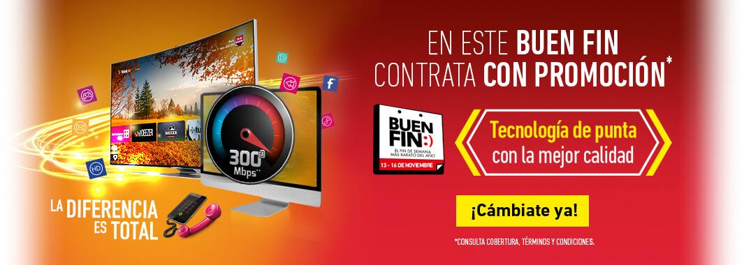 Promociones del Buen Fin 2015 en Totalplay