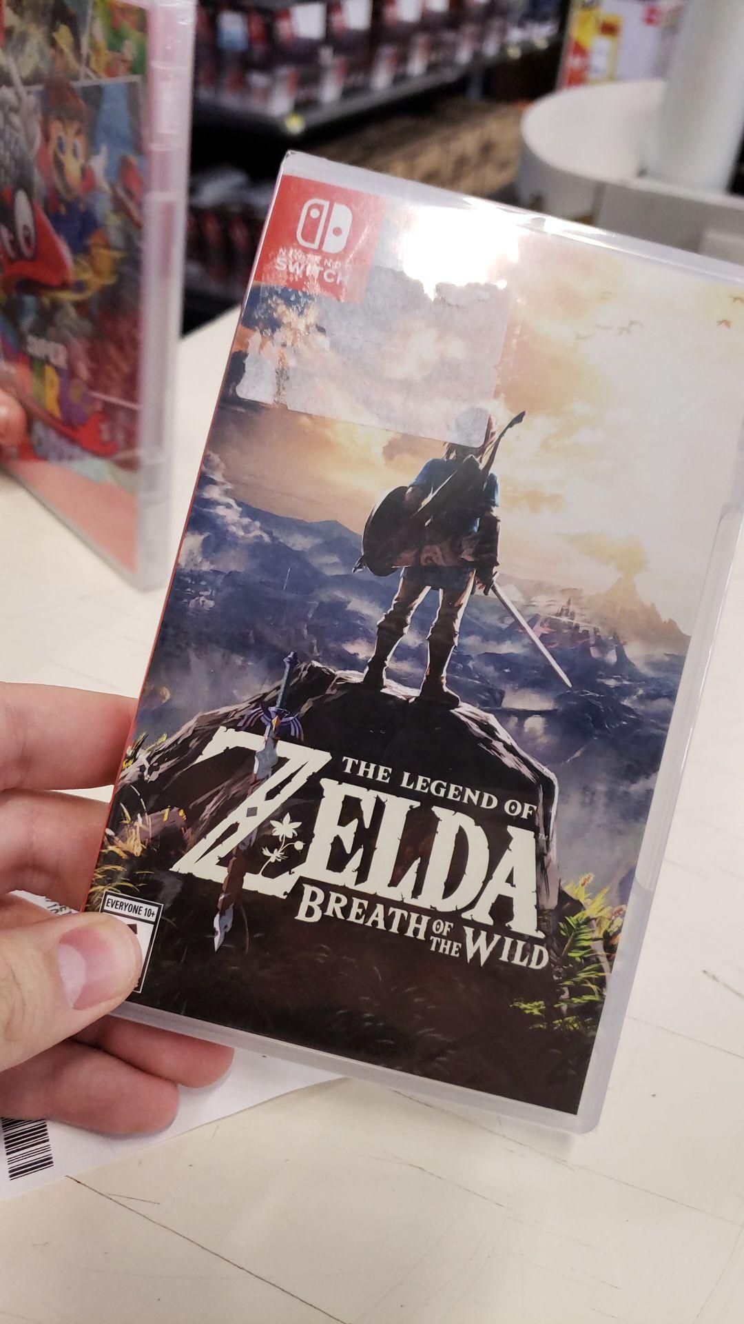 Bodega Aurrera: Zelda BOTW, Mario Kart8 y Mario Odissey de Nintendo Switch en LIQUIDACIÓN