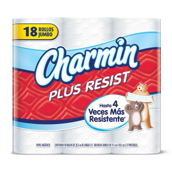 Chedraui Tampico Zona Norte: Paquete de 12 rollos de Charmin Plus Resist $10