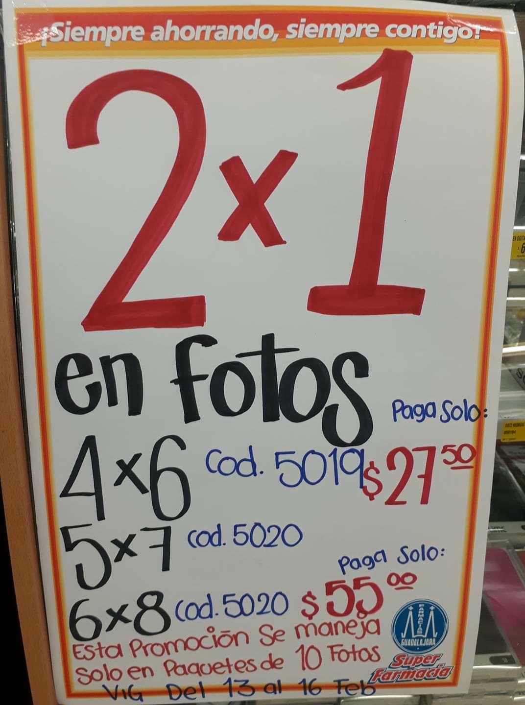 Farmacias Guadalajara: 2x1 en Impresión de Fotos
