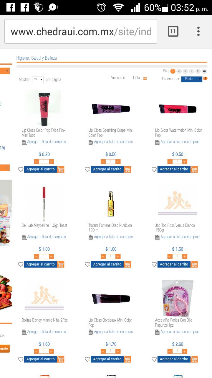 Chedraui San Esteban: Liquidaciones en tienda online