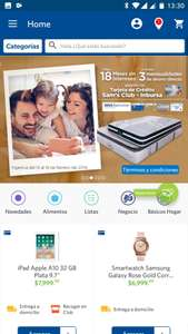 Sam's Club: en Apple iPhone iPad Mac 3 meses de reembolso Inbursa -Bancomer y  hasta 18 msi