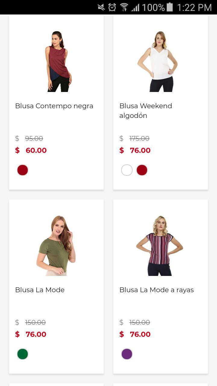Suburbia: Varias blusas de mujer.