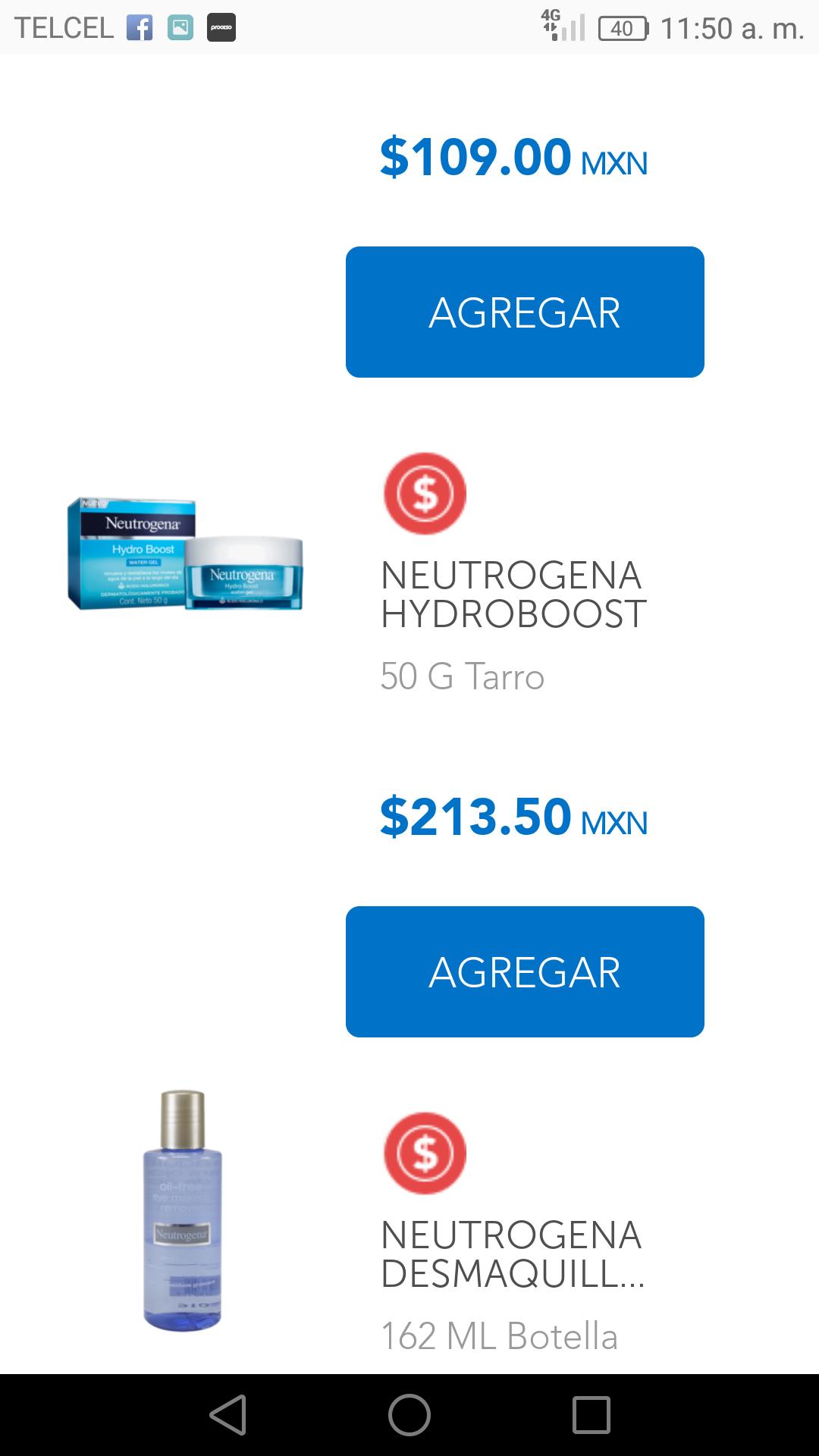 Farmacias San Pablo: Neutrogena Hydro Boost