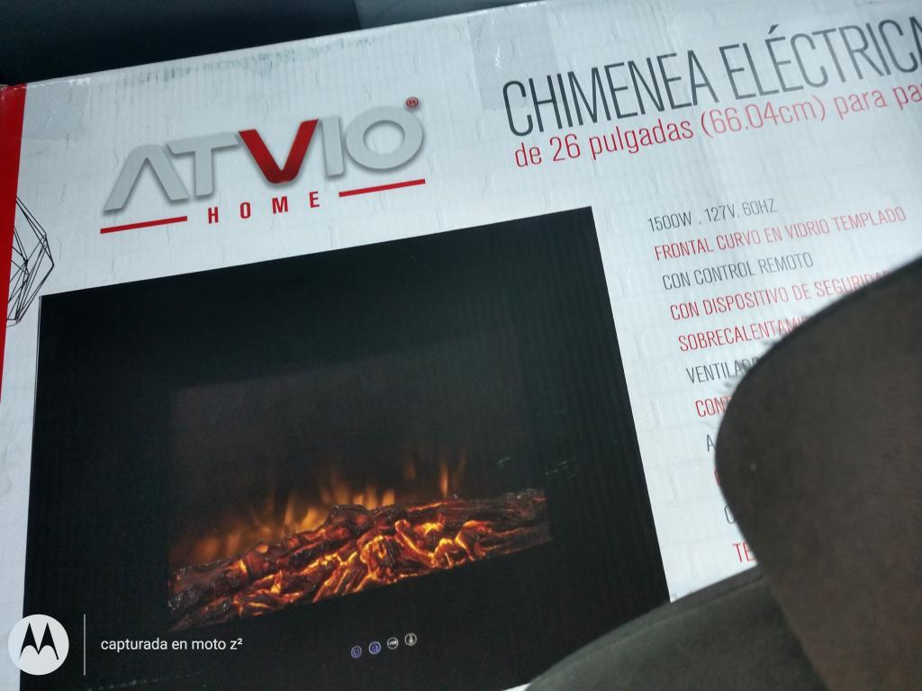 Walmart: Chimenea Eléctrica Atvio