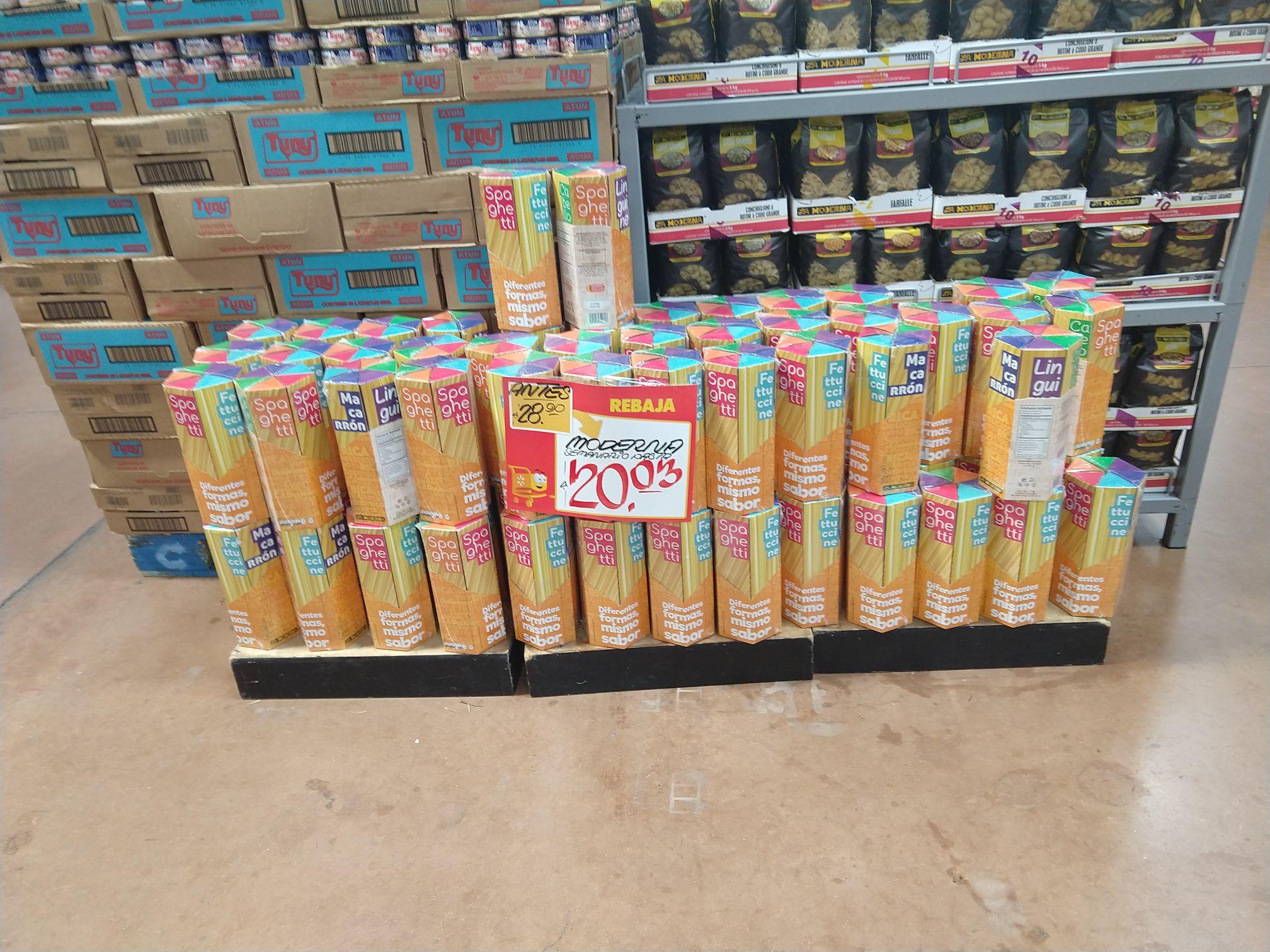 Walmart: Espaguetis de casi 1kg