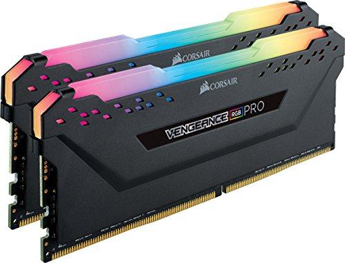 Amazon: Corsair Vengeance CMW16GX4M2C3000C15 módulo de - Memoria (16 GB, 2 x 8 GB, DDR4, 3000 MHz, 288-pin DIMM, Negro)