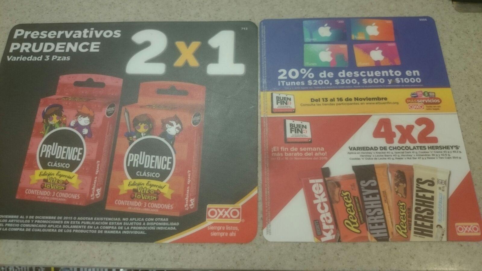 Oxxo: 2x1 Condones Prudence edición limitada.