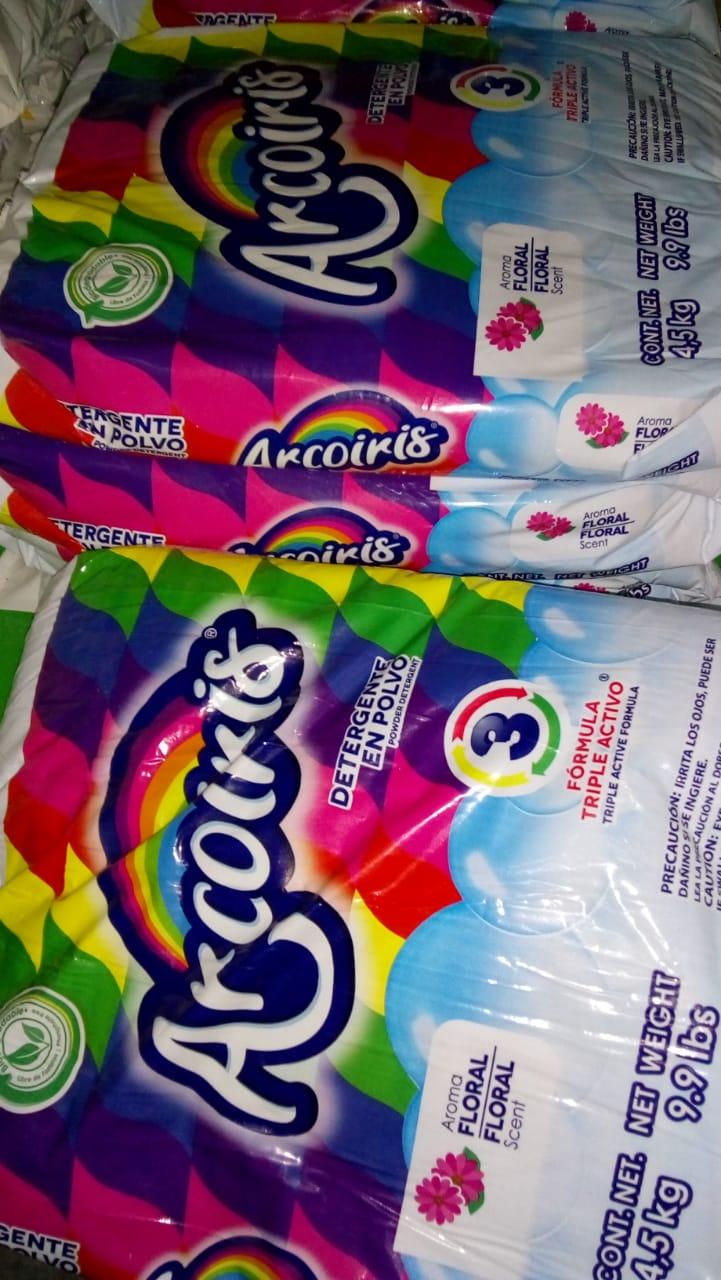 Bodega Aurrera: detergente Arcoiris