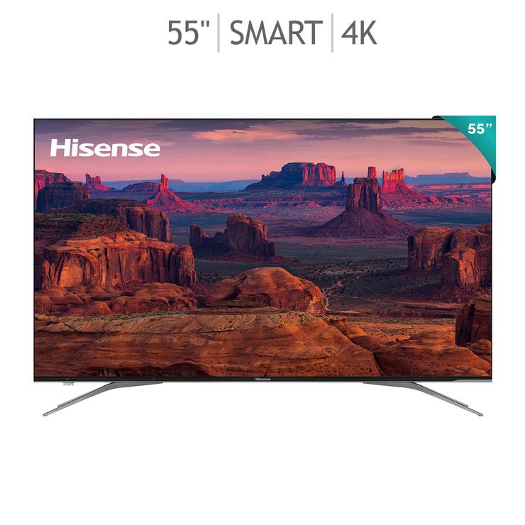 "Costco: Pantalla ULED Hisense H9E Plus 55"" Android TV (120 Hz Reales)"