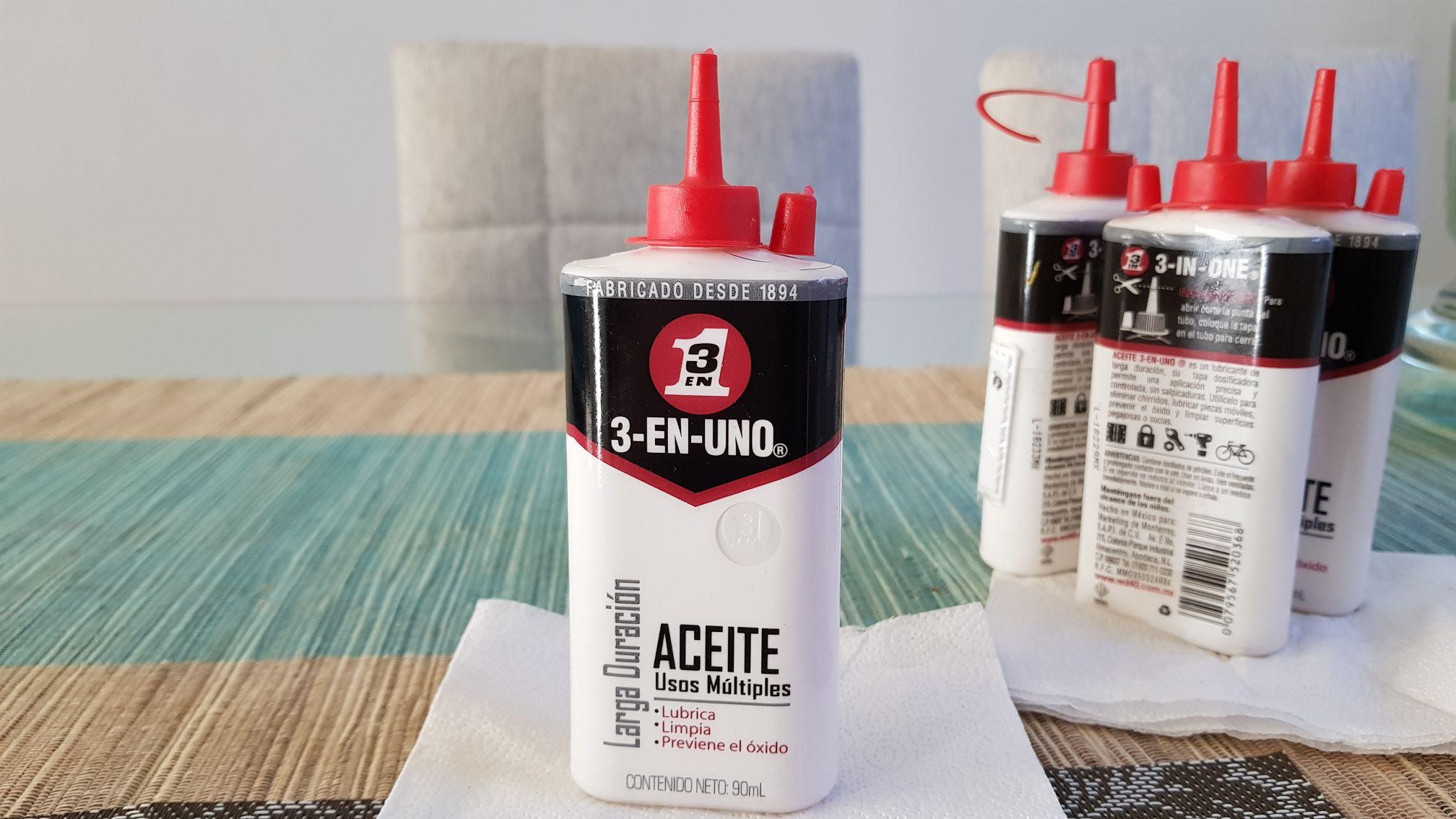 Bodega Aurrerá:  De $29.00 a 4.02 Aceite 3 en 1, 90ml