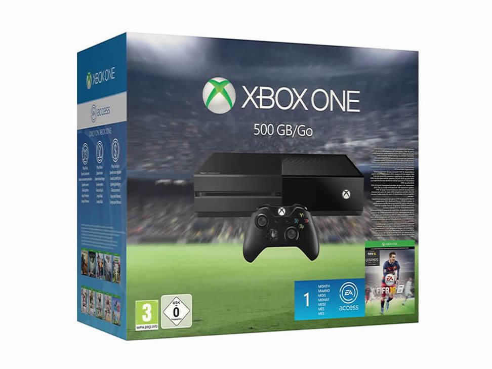 El Buen Fin en Liverpool: CONSOLA XBOX ONE 500 GB + FIFA 16