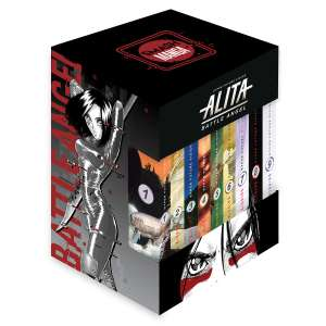 Sanborns Alita Battle Angel manga 9 tomos