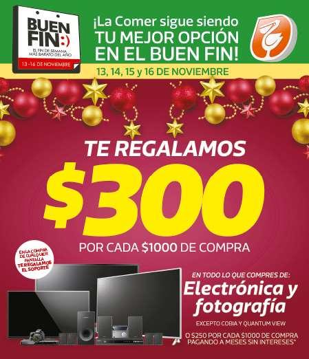 Folleto de ofertas del Buen Fin 2015 en La Comer