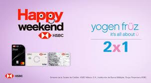 HSBC y YogenFruz: 2 x 1 en Helados