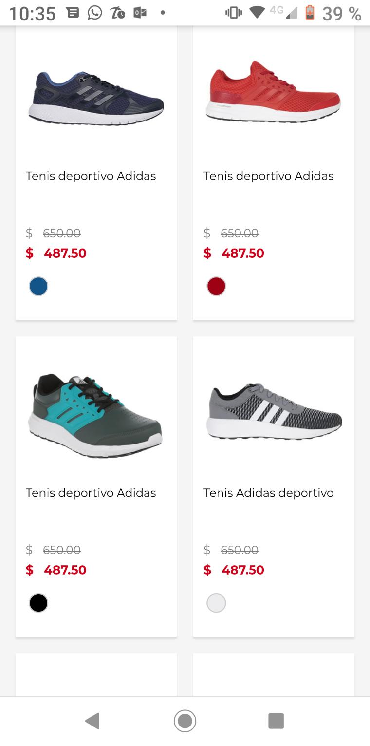 Suburbia: tenis Adidas 6 modelos distintos