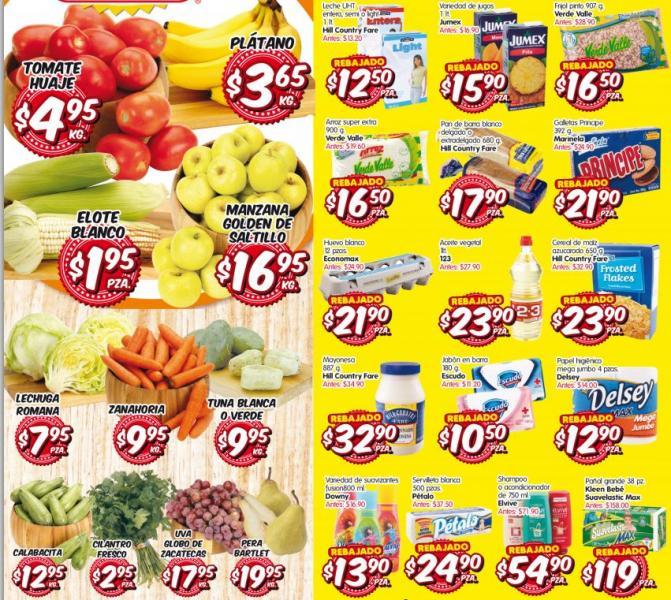 HEB del 17 al 19 de septiembre: plátano $3.65, tomate $4.95 y más