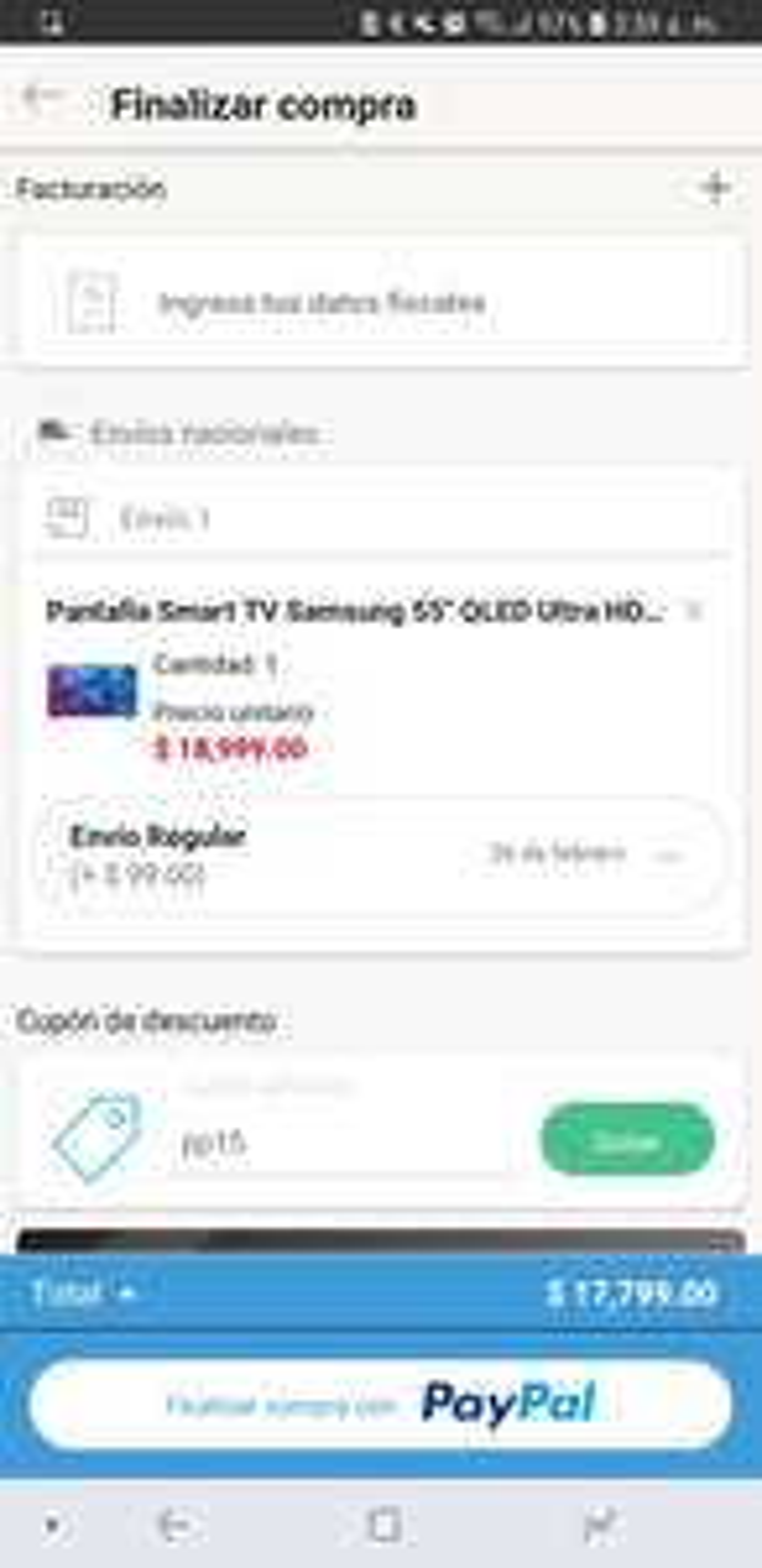 Linio: Samsung Qled 55 pulgadas