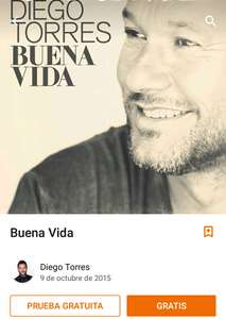"""Buen Fin Google Play. Disco de Diego Torres """"Buena Vida"""" y álbumes en rebaja"""