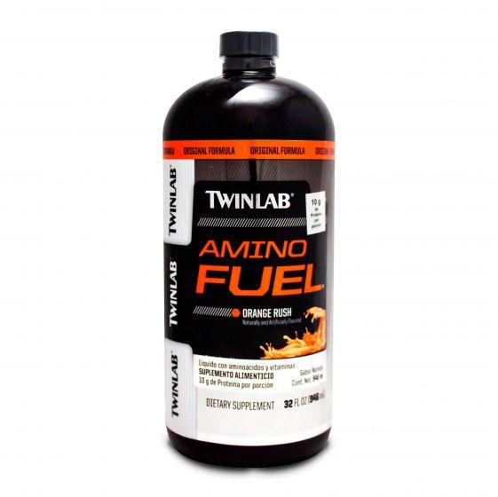 GNC FISICA Y ONLINE: Amino Fuel-Naranja TWINLAB