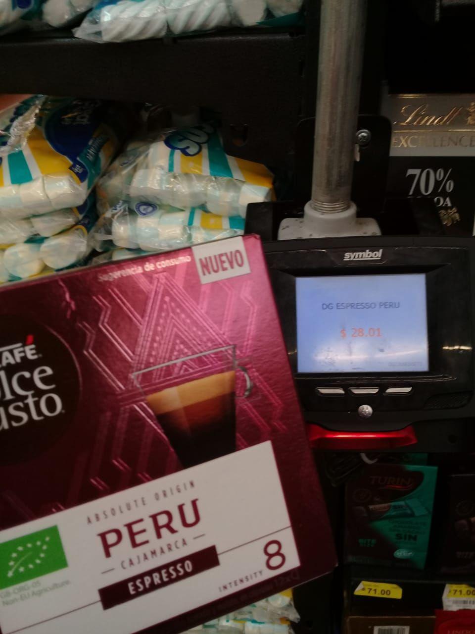 Walmart: Capsulas Dolce de Perú