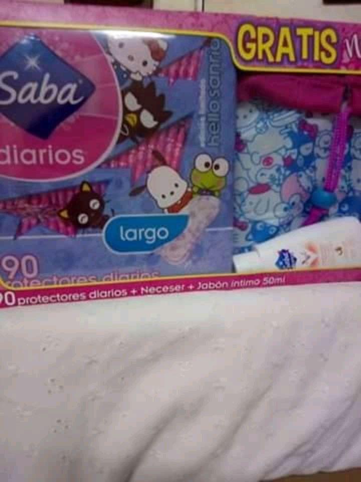Walmart Uptowm (Altabrisa) Mérida : Saba Pantiprotectores + Gel Íntimo + comestiquera