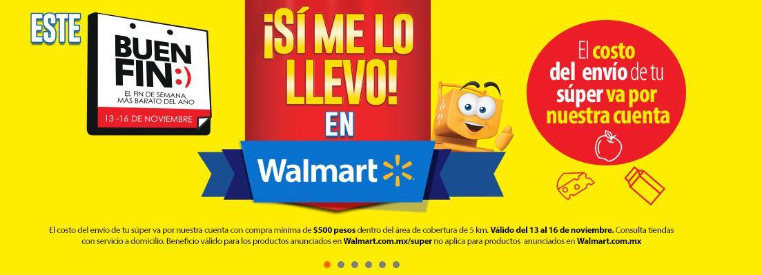 El Buen Fin Walmart: Envío de Súper Gratis