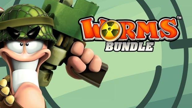 fanatical: Worms Bundle (Steam)