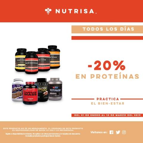 Nutrisa-20% en proteína