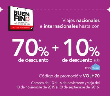 Promoción de Buen Fin 2015 en Volaris