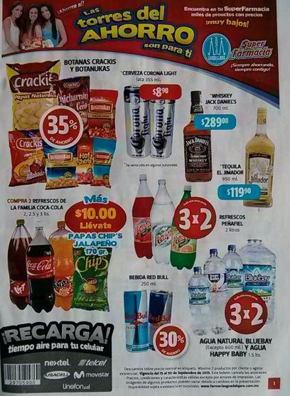 Folleto Farmacias Guadalajara del 15 al 30 de septiembre 2013