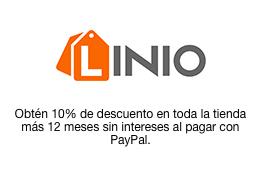 Ofertas del Buen Fin en Linio: 10% de descuento con PAYPAL (del 14 al 15 de noviembre) y 12 MSI
