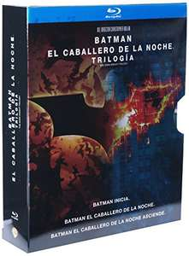 Amazon Mexico Trilogía Batman el Caballero de la Noche [Blu-ray] $250