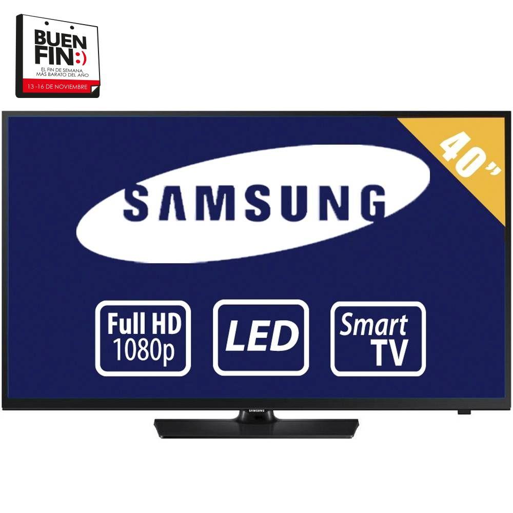 """El buen Fin Walmart: Pantalla Samsung Smart TV 40"""""""