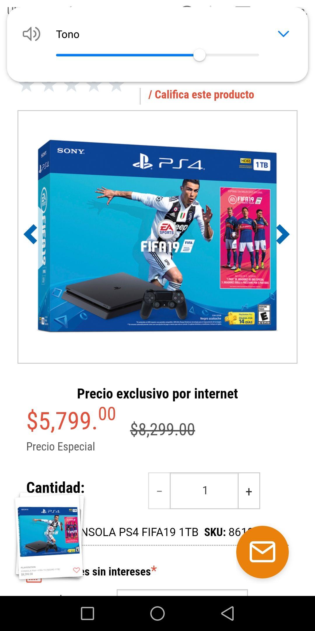 Radioshack: PlayStation 4 1TB + FIFA 19 30% de descuento