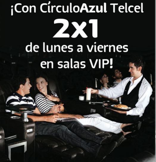 Cinépolis: 2x1 en VIP para clientes Telcel