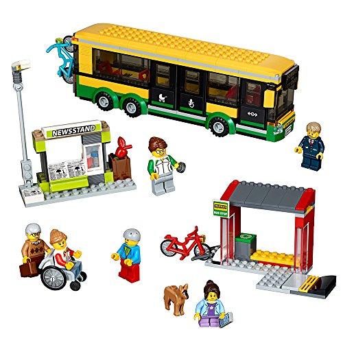 Amazon Mx: LEGO Juego City Town Estación de Autobuses