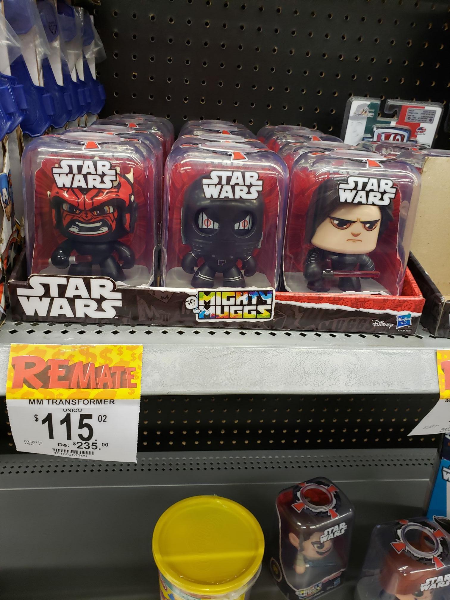 Bodega Aurrera: Juguetes Star Wars en liquidación