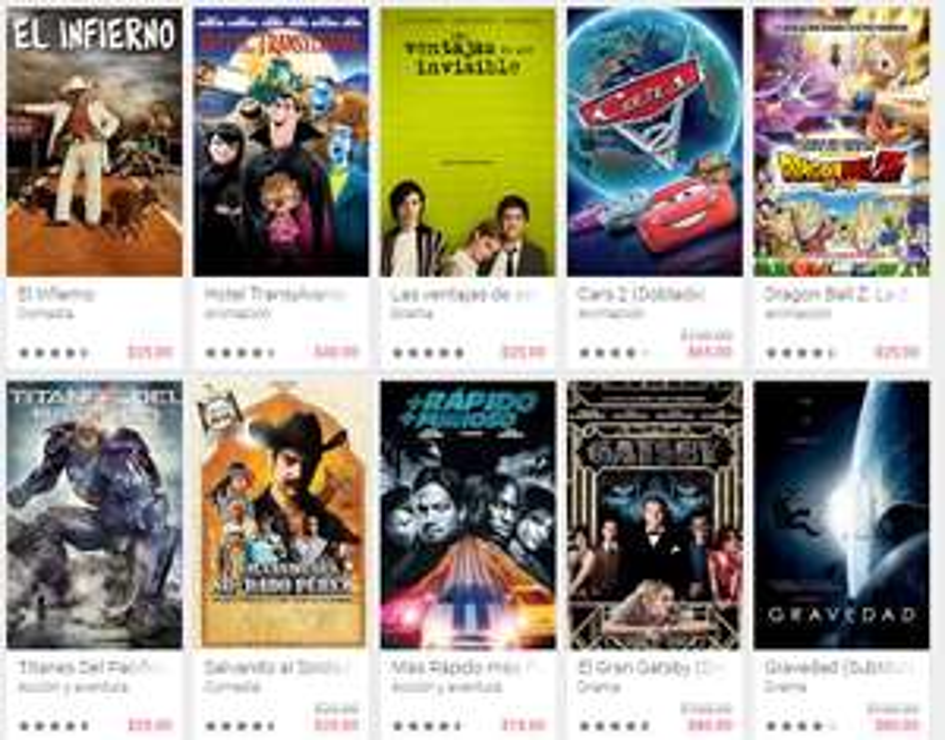 Google Play: Peliculas en oferta Buen fin 2015